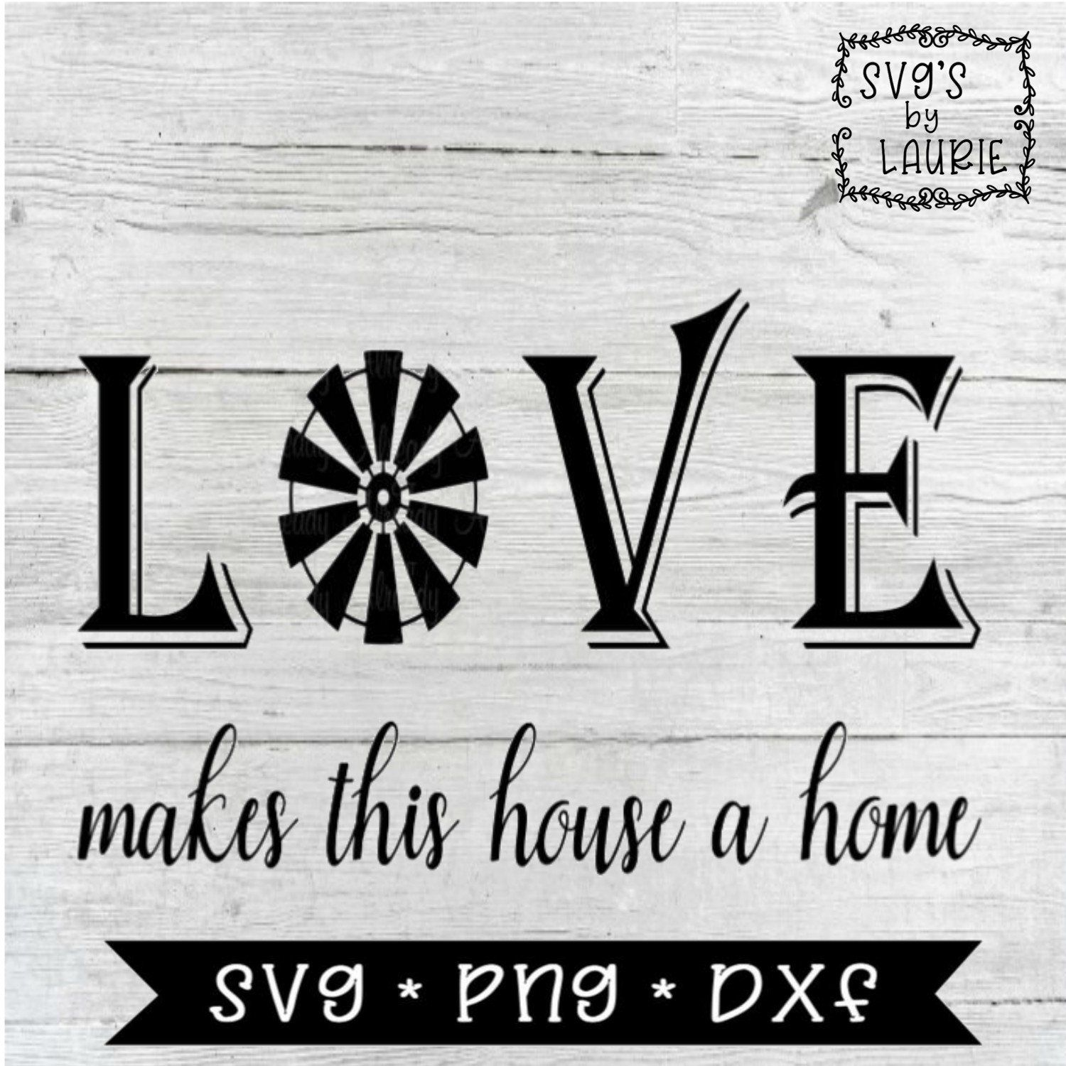Download Love makes a house a home SVG - Home SVG - House SVG - New ...
