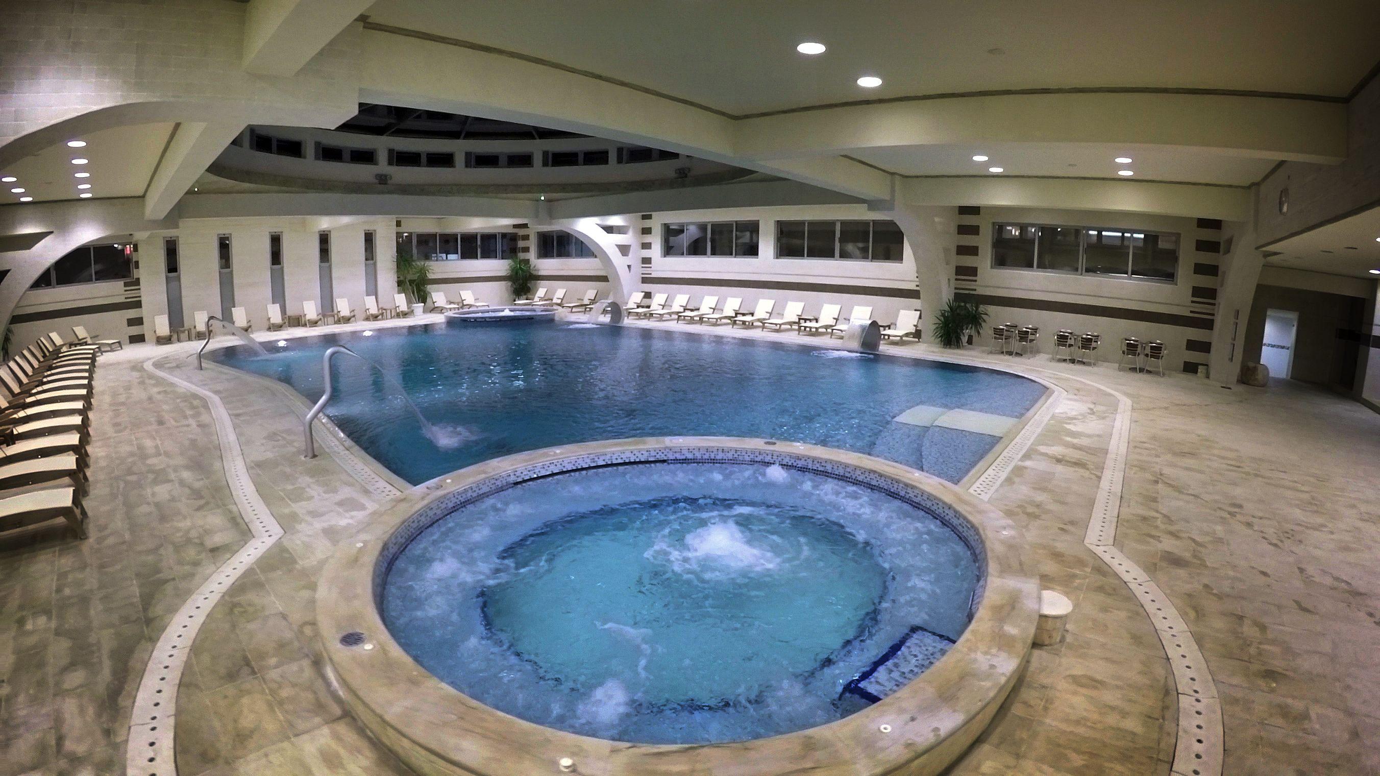 Indoor pool #hotelMediteran #Budva #Montenegro #wellnessandspa ...