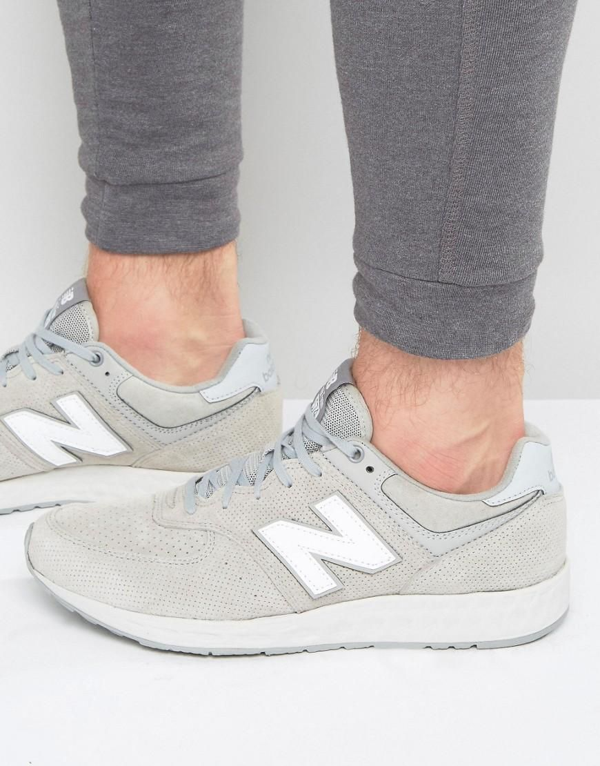 New Balance 574 Freshfoam Trainers In Grey Mfl574fd At Asos Com Weisse Lederschuhe Adidas Sneaker