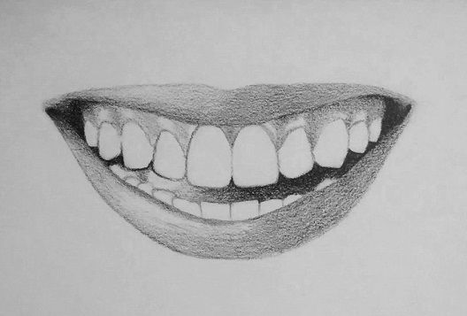 How To Draw Teeth And Lips 7 Easy Steps Portraits