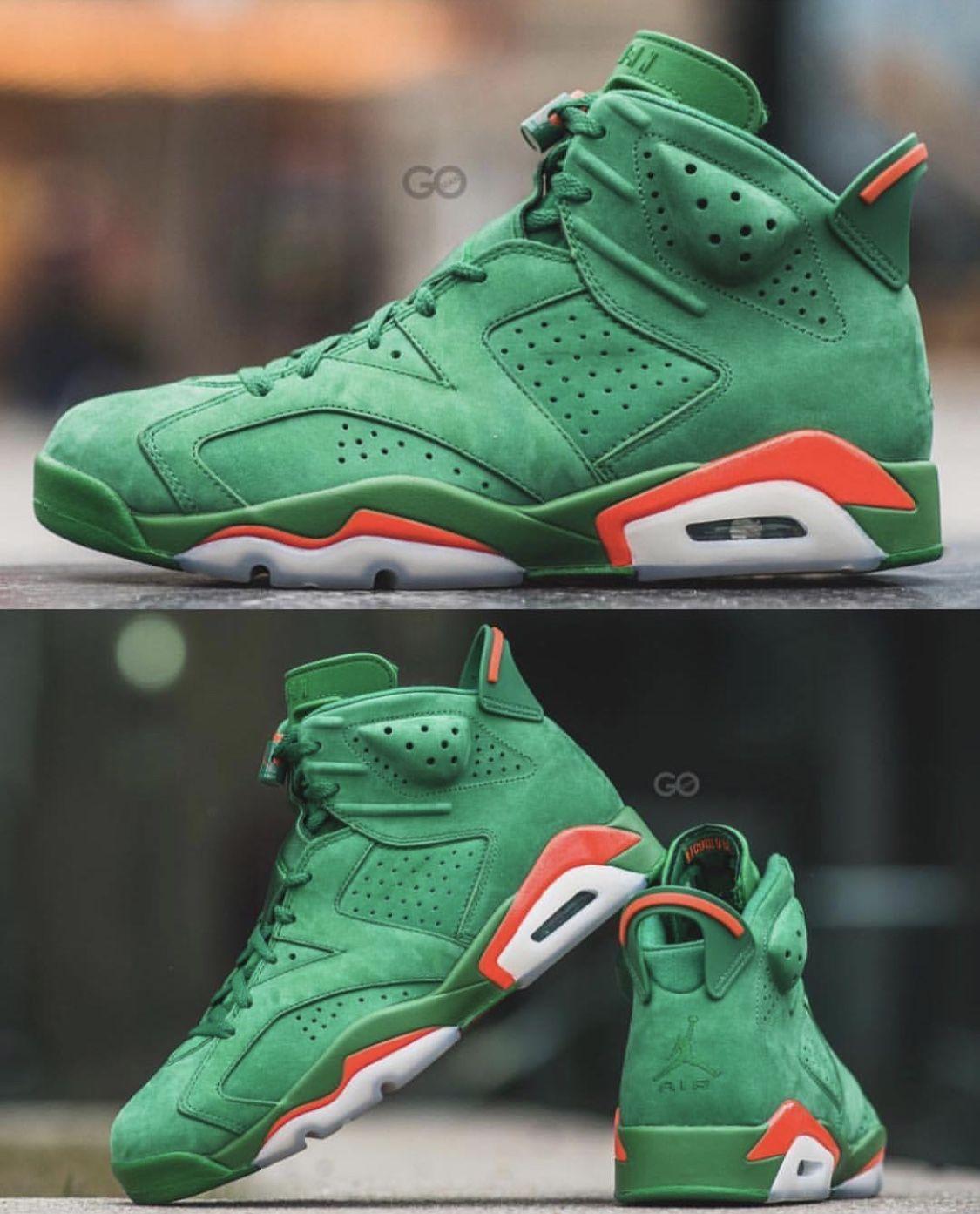 fe645f0d717 Air Jordan 6 Gatorade | got style | Hype shoes, Shoes, Air jordans