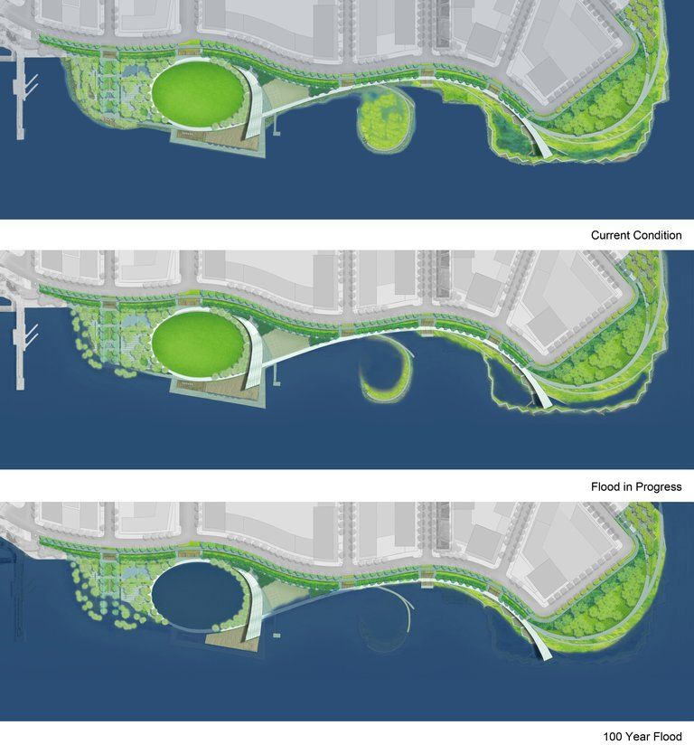 Hunters Point South Waterfront Park Openbuildings Landscape Plans Landscape Landscape Plan