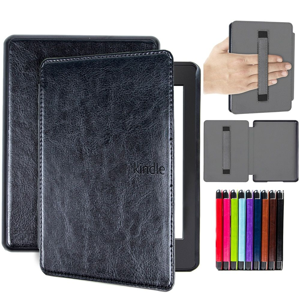 ada70cf4c cover case for 2018 Kindle Paperwhite 4 10th Generation case waterproof  e-reader cover with hand holder folio cover case