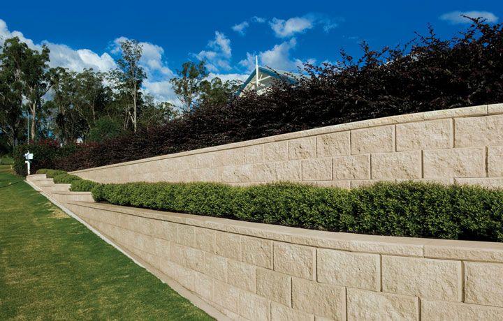 Heron Retaining Wall Blocks Austral Masonry Landscaping Supplies Landscape Materials Landscape