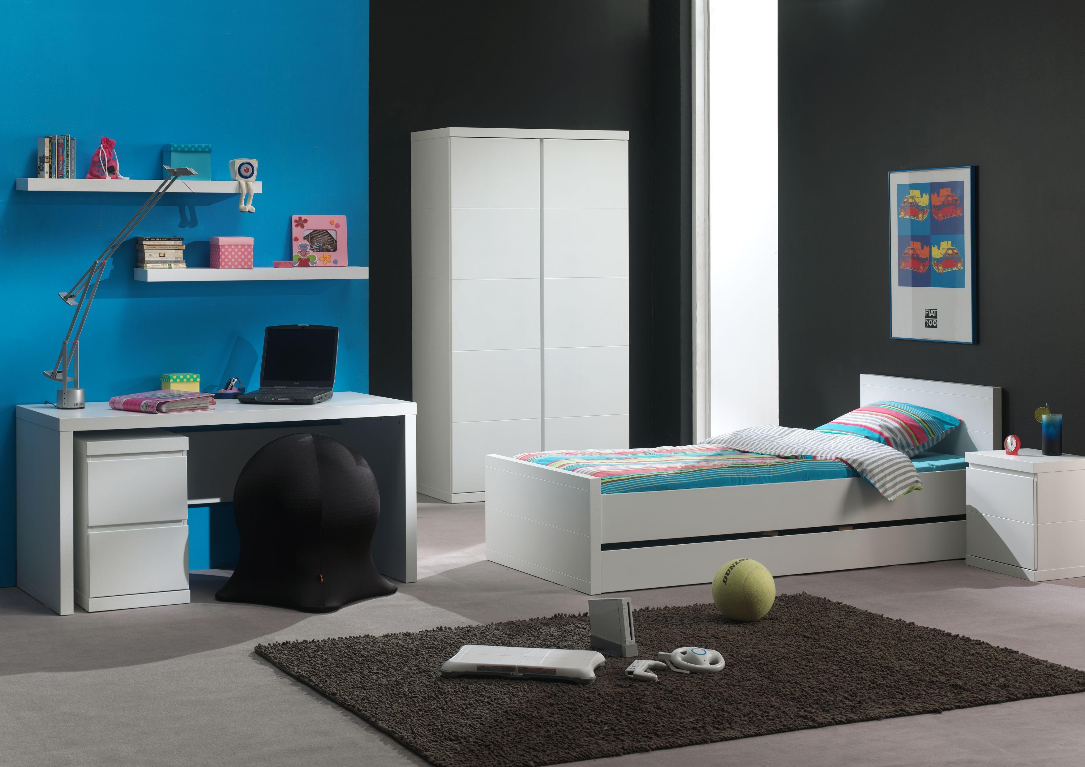 Kinderkamer lara wit van vipack strak en modern g minimalism