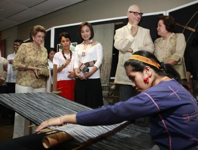Sen. Legarda promotes Mangyan Culture