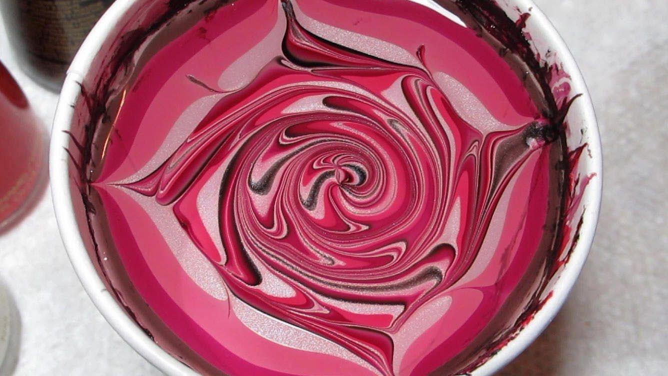 Devils & Angel Water Marble Nail Art Tutorial | Nails | Pinterest ...