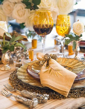 Stunning table setting!