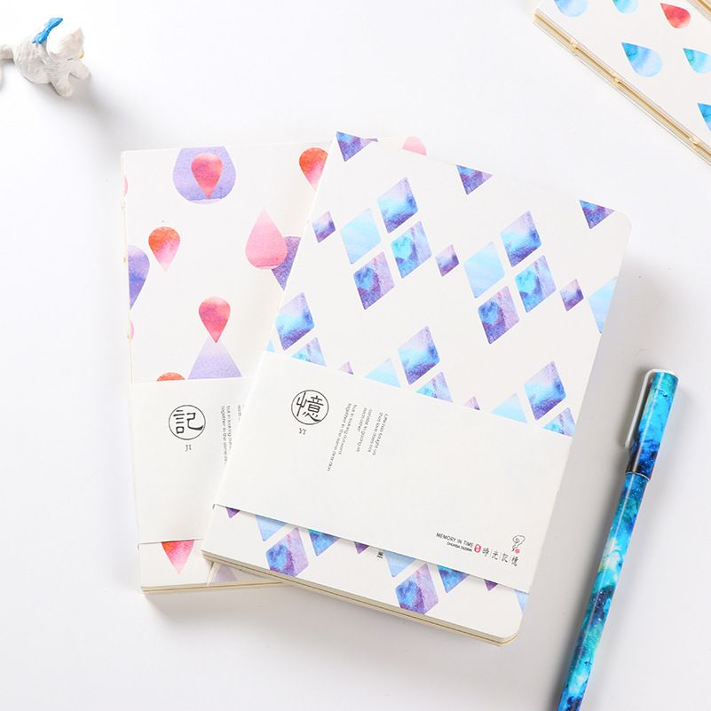 4 pcs\/lot Creative Time memory Blank page Notebook Daily Memo Pad - blank memo
