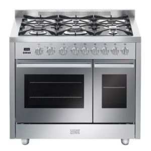 Cooke Lewis Dual Fuel Range Cooker With Gas Hob Cldfrc 100