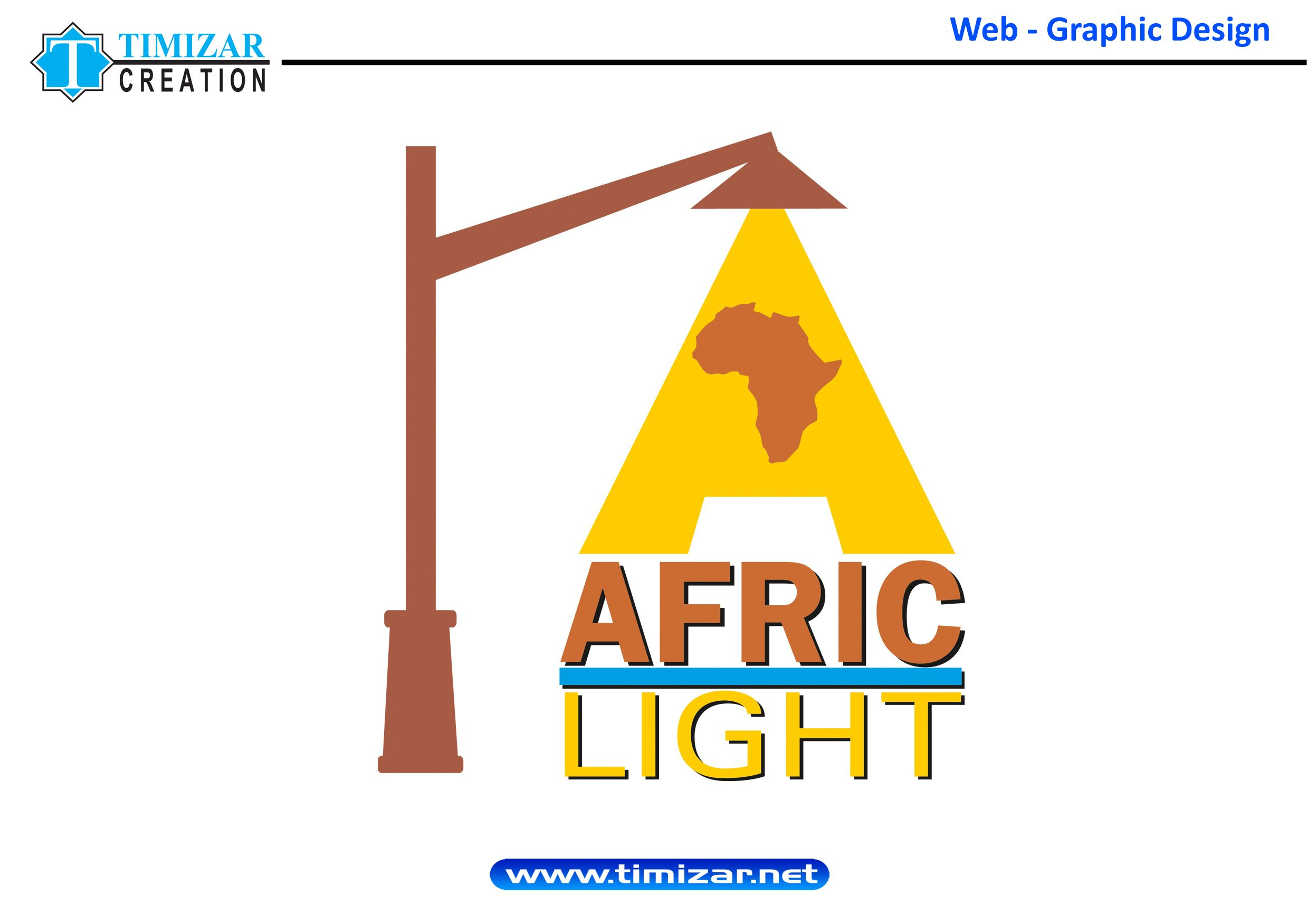 Logotype For Afric Light Street Light Company Designed By Me Www