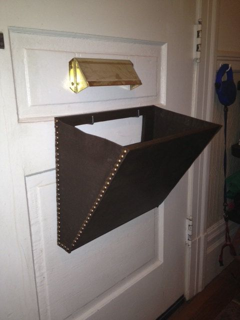 Mail Slot Catcher Pouch Basket Box Thingeemabob By PaulFresina