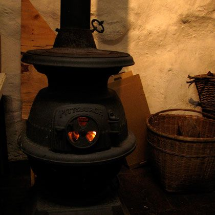 I Had One Of These In My Kitchen And Another Wood Burning