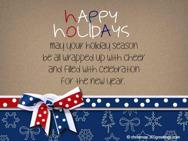 Happy Holidays Messages and Wishes Christmas Happy holidays