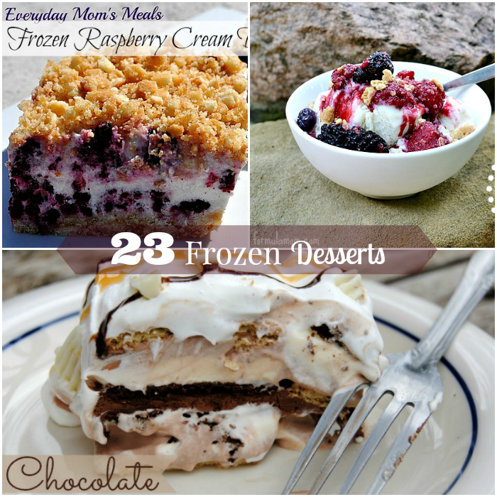 23 Frozen Desserts Chill Out with this Summer Frozen