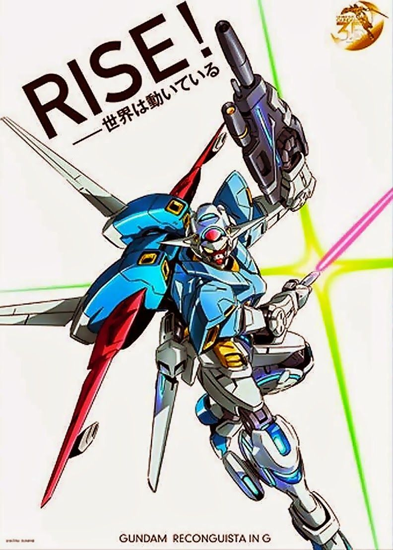 New 2014 series Gundam: G no Reconguista - During the Kidou Senshi Gundam 35th Anniversary Announcement, Gundam creator, Tomino Yushiyuki said that the new Gundam: G no Reconguista is...
