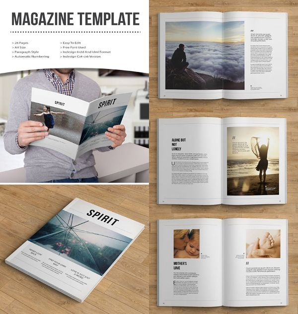 Spreading The Maglove Free Indesign Magazine Templates Magspreads Magazine Layout I Free Indesign Magazine Templates Indesign Magazine Templates Indesign