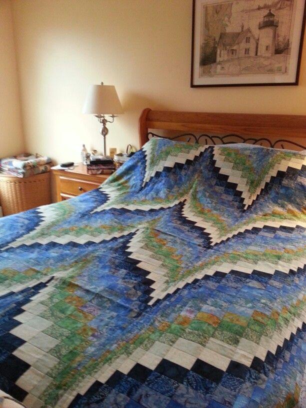 Bargello quilt by Lauren Applebee 2013