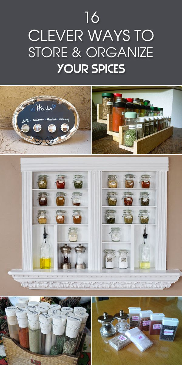 Great ideas to help you organize your