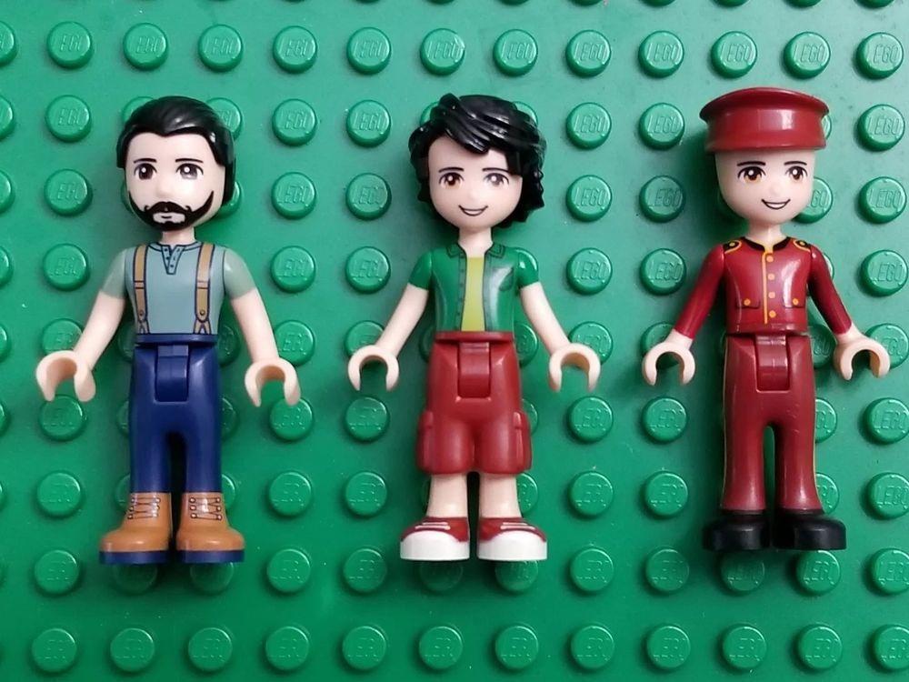 Lego Friends Minifigures Boys STEVE OLIVER NATE Hard to ...