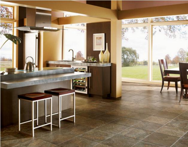 Weekly Round Up Kitchen Flooring Options Coles Fine Flooring Luxury Vinyl Tile Vinyl Tile Kitchen Flooring