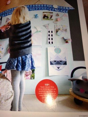 """Blue Raccoon in """"Vores Børn"""" Magazine July 2013"""