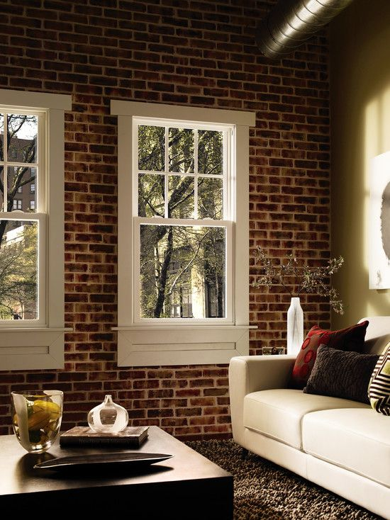 Faux Brick Wall Design Pictures Remodel Decor And Ideas Page