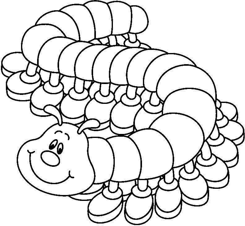 Dibujos Para Colorear Gusano Dibujos Dibujos De Animales