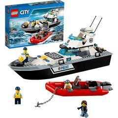 Lego City Police Police Patrol Boat Lego City Police Lego City Toys By Age