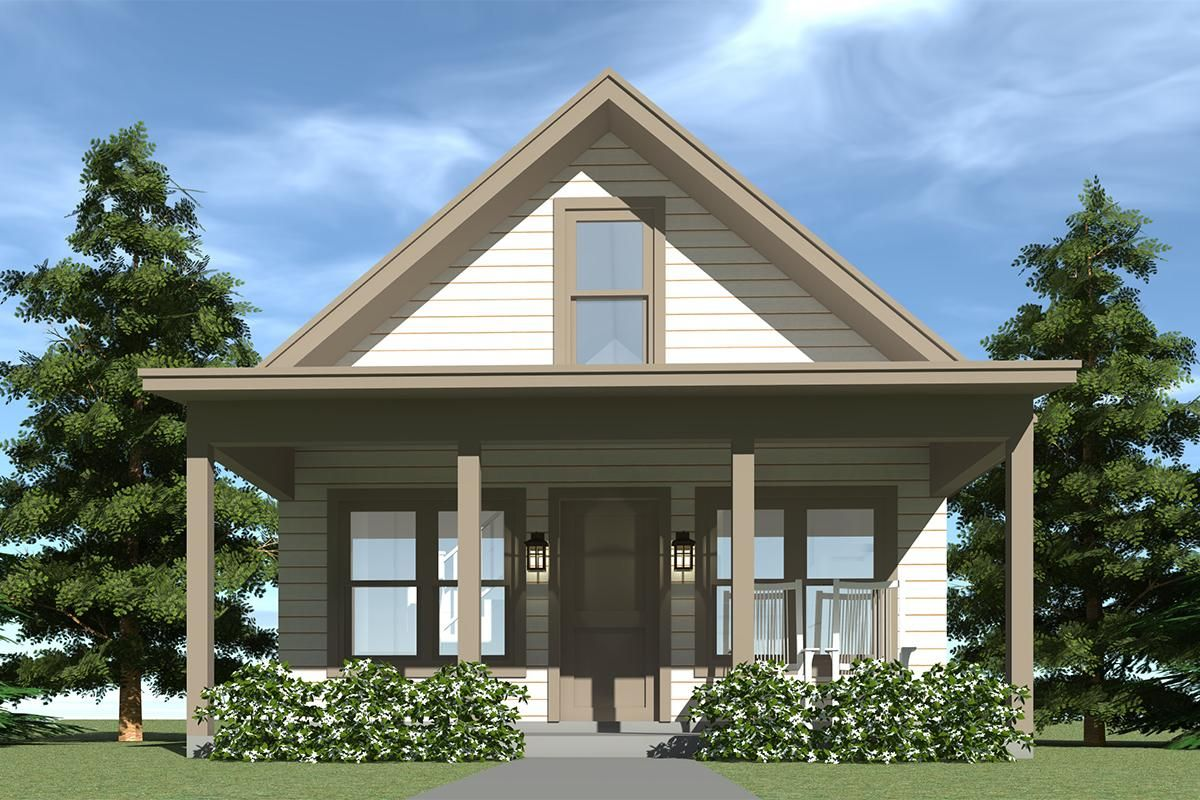 House Plan 028 00065 Cottage Plan 860 Square Feet 1 Bedroom 1 Bathroom Cottage Plan Cabin Plans With Loft House Plan With Loft