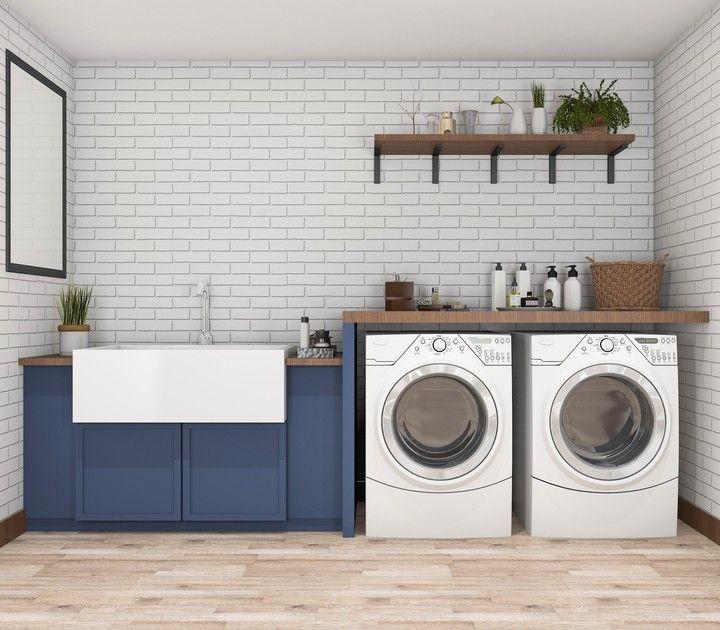 Lavaderos con dise o para tener todo limpio y en orden for Lavaderos ideas