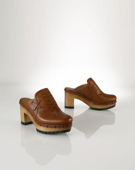 Calfskin Chantal Clog   Boot shoes