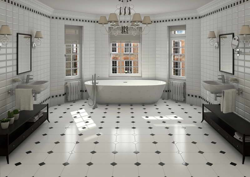 Small Bathroom Floors bathroom floor tile designs - soslocks