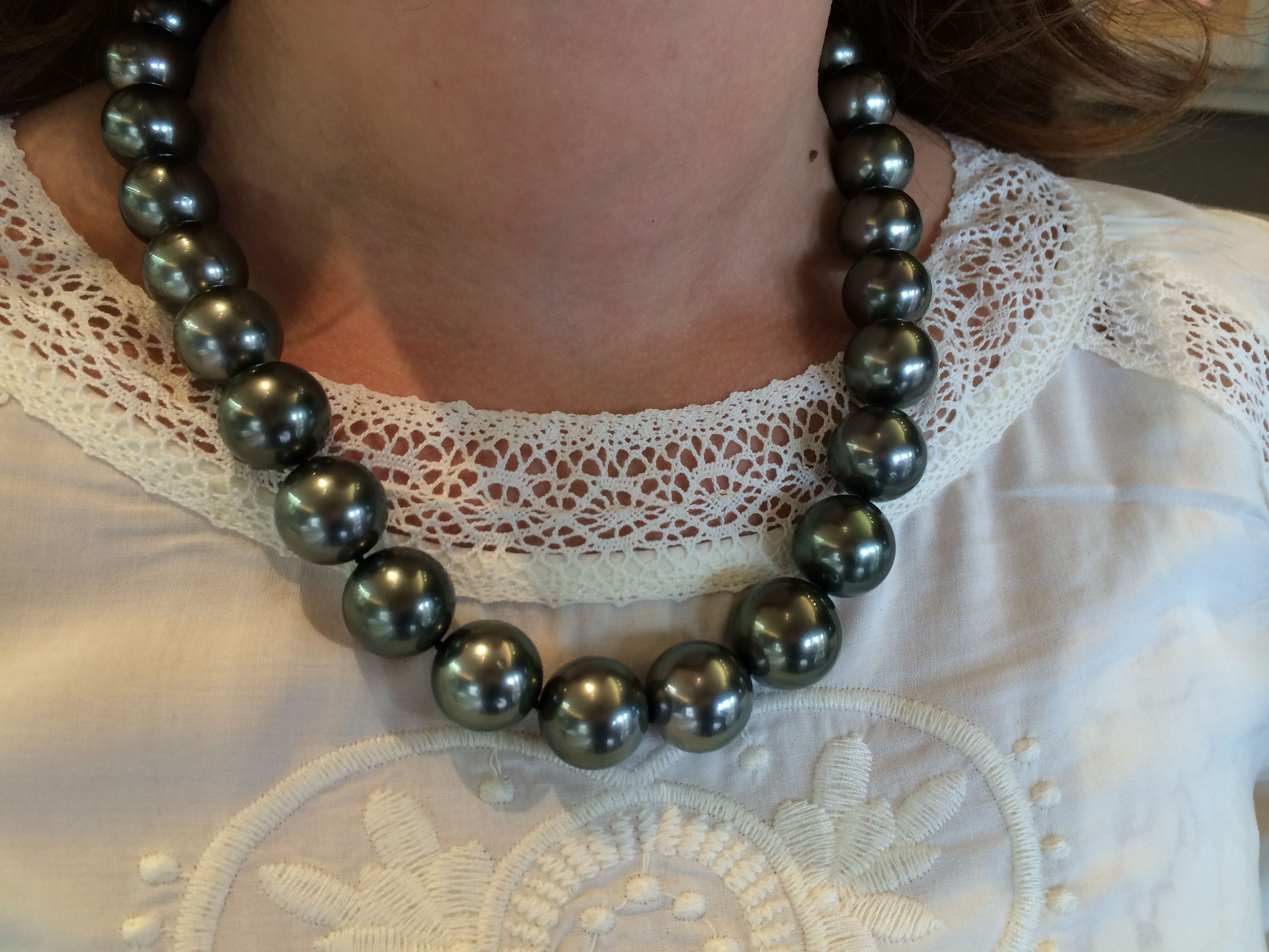 Our Mikimoto Tahitian Pearls Can't Be Mistaken For Anything Except Pure  Glamour Http