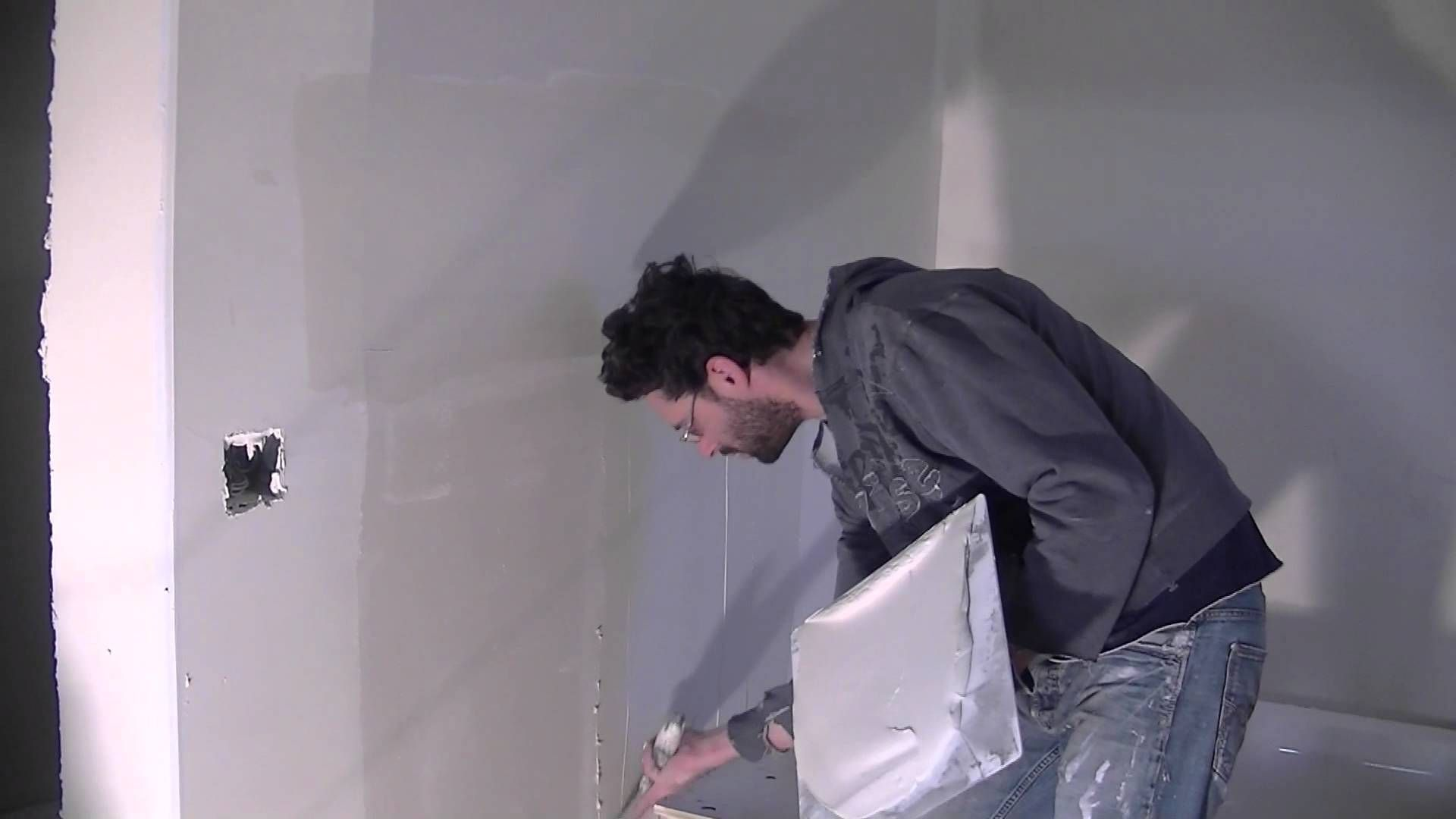 How To Coat Drywall Joints Second Coat Drywall Joint Laundry Clothes