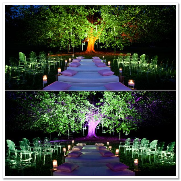 Lighting changes everything love it this makes me want a nighttime lighting changes everything love it this makes me want a nighttime wedding im a night owl anyway aloadofball Image collections
