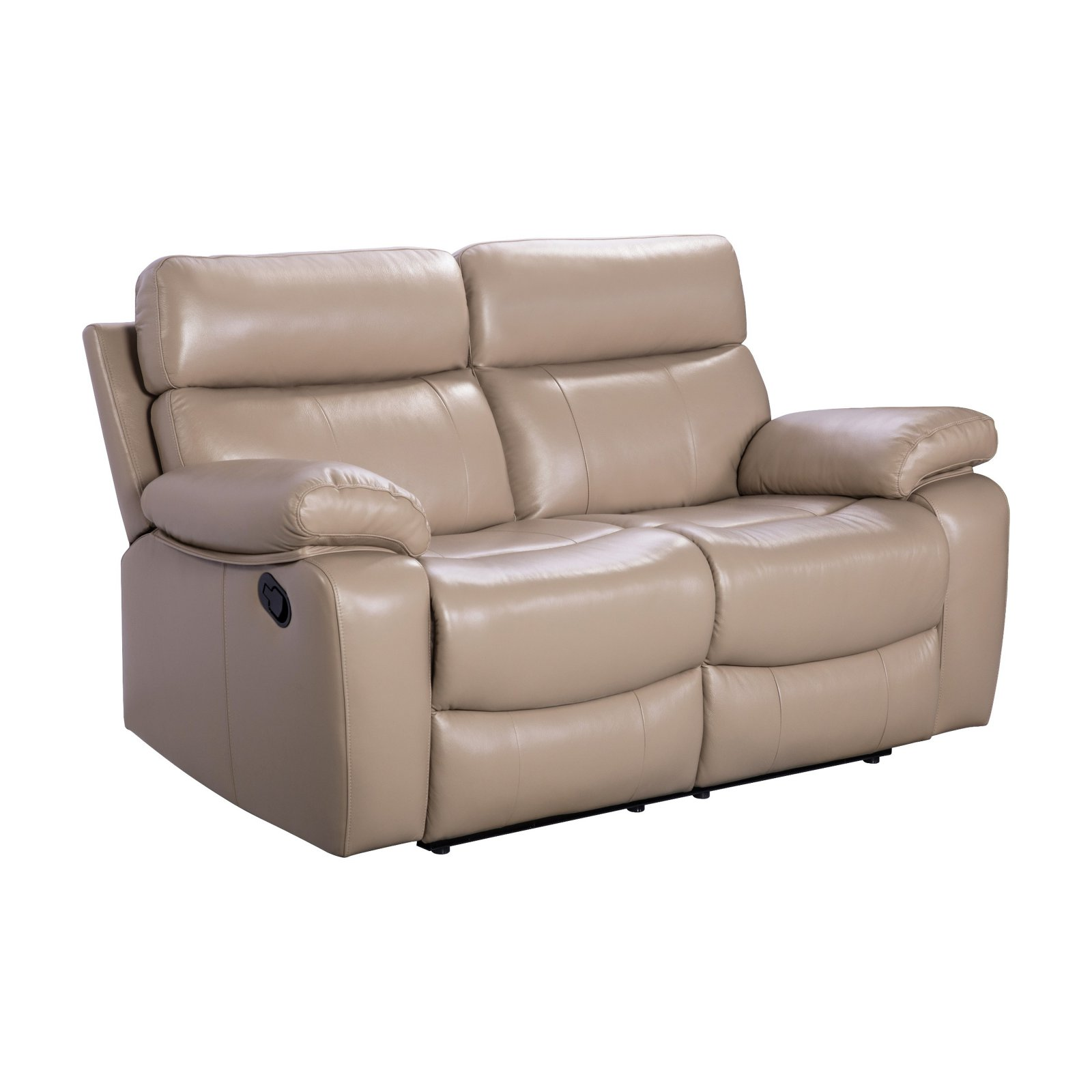 Surprising Abbyson Living Levi Leather Reclining Loveseat Products In Unemploymentrelief Wooden Chair Designs For Living Room Unemploymentrelieforg