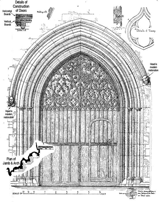 midevil architectural doorways Adapted from Bond Gothic