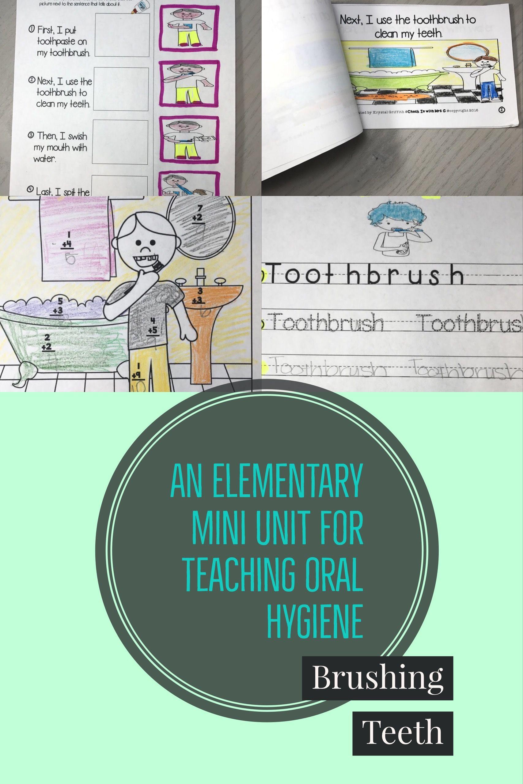 Hygiene Brushing Teeth Mini Unit Including A Social Story