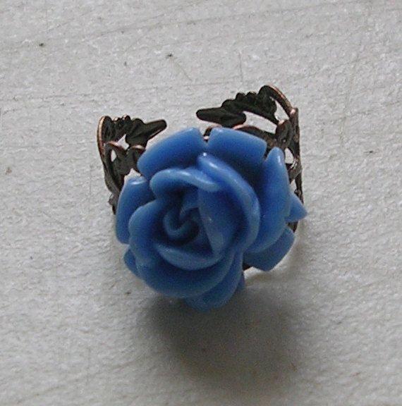 •♥•Lolita Rose Ring, Victorian, Decora, Fairy Kei•♥• https://www.etsy.com/shop/Jemworks