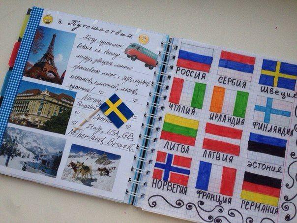 Личный дневник оформление внутри своими руками фото фото 768