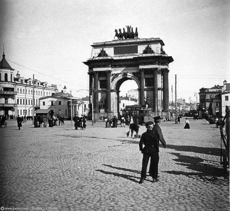 Фото Сергея Челнокова. Москва 1904-1914 Тверская застава ...