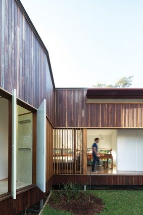 This new house in marrickville sydney by david boyle architect feels huge but sits on  relatively small site also courtyard form kouichi kimura architects landscape rh uk pinterest