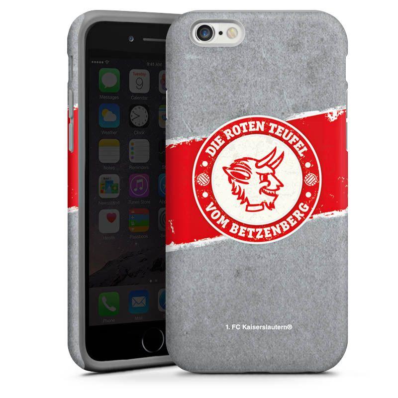 1.FCK die roten Teufel für Tough Case (black) für Apple iPhone 6 von DeinDesign™