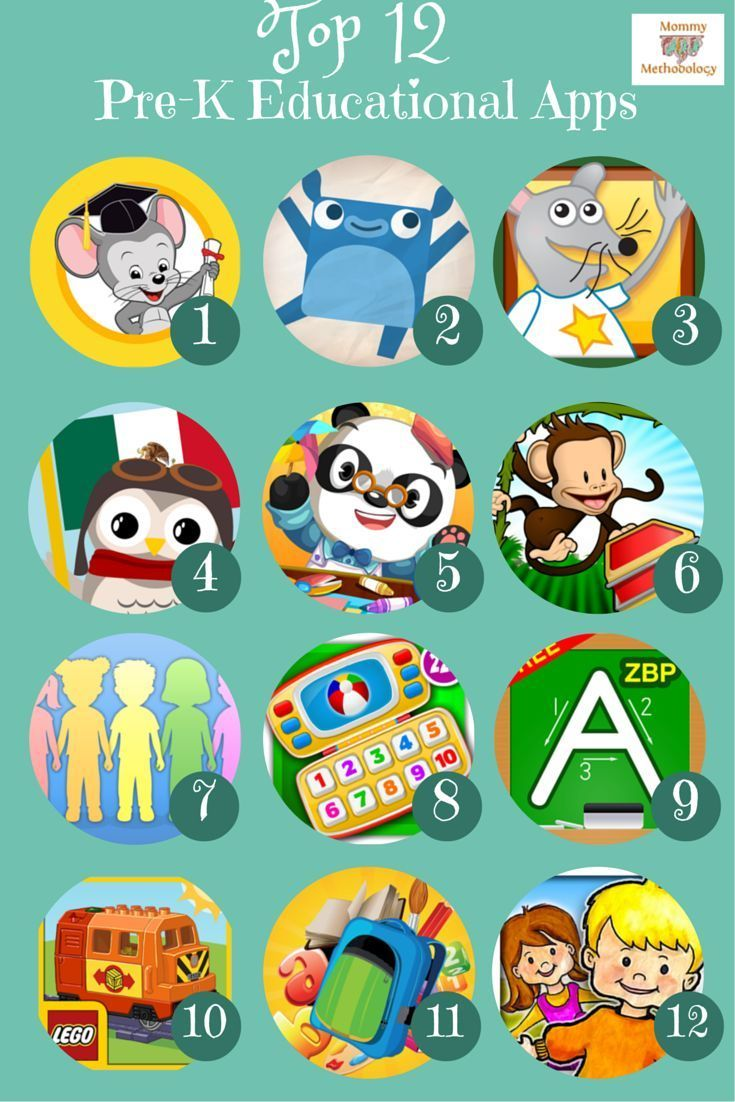 Top 12 PreK Educational Apps for Kindle & Android Parent