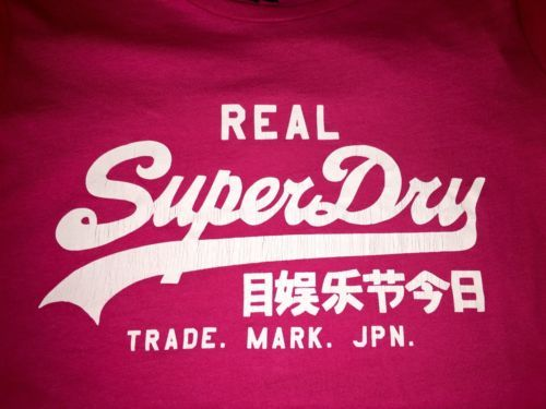Superdry brand t-shirt NWT Bright Pink ladies size medium https://t.co/Rrk4N2xENC https://t.co/nqJt4rXjHt