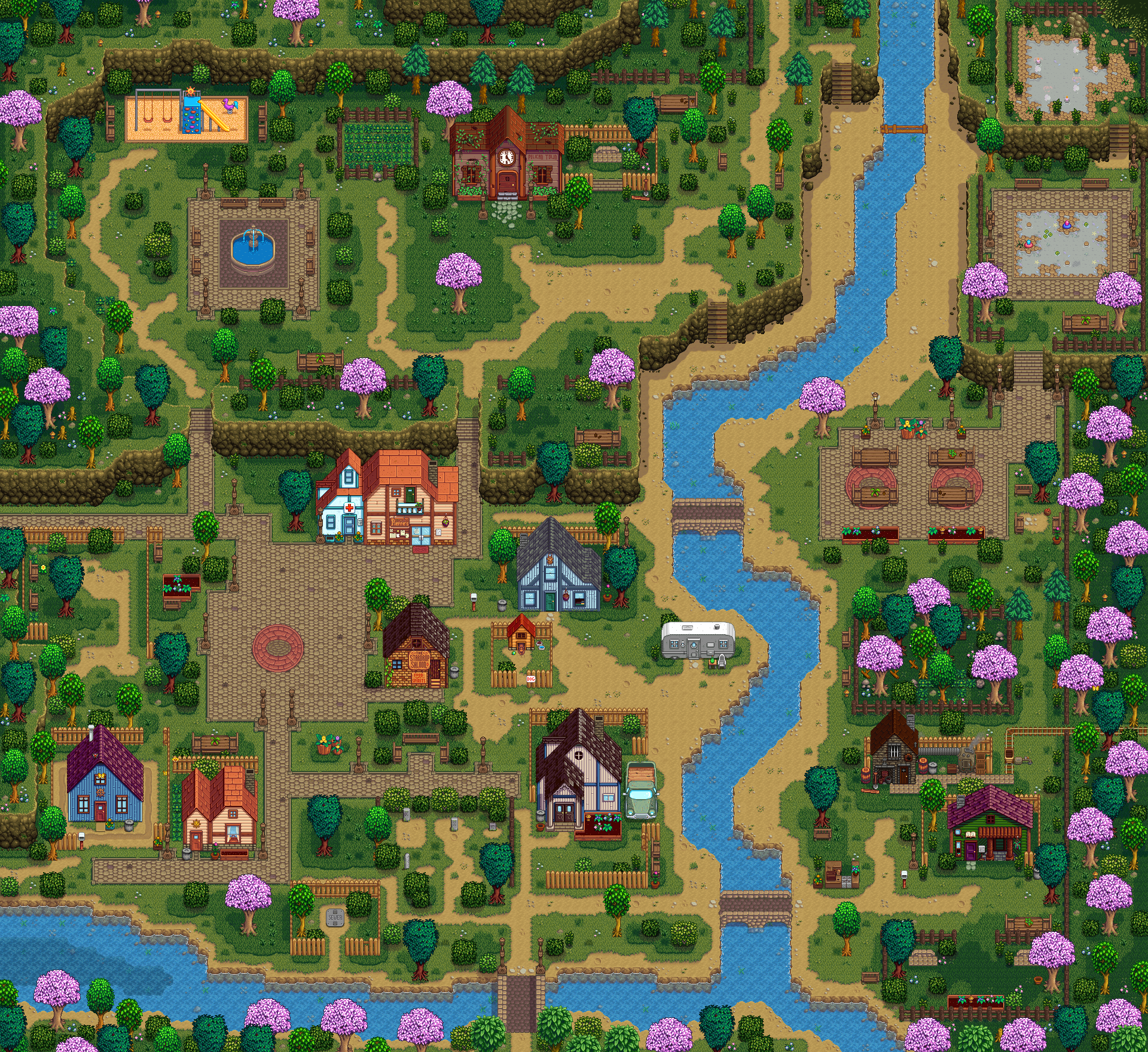 Immersive Map Redits とび森 マイデザイン 地面 どうぶつの森