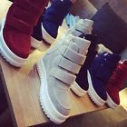 Fashion Classic Women warm Hidden Wedge High Top Sneakers Athletic high Shoes