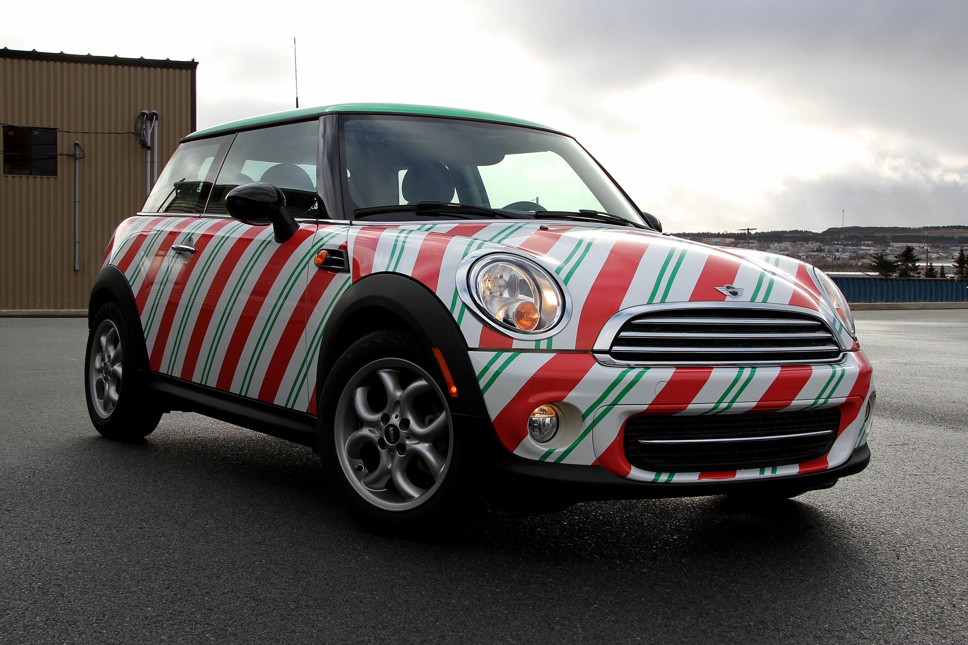 This Awesome Christmas Car Wrap Was Done For Mrs Claus