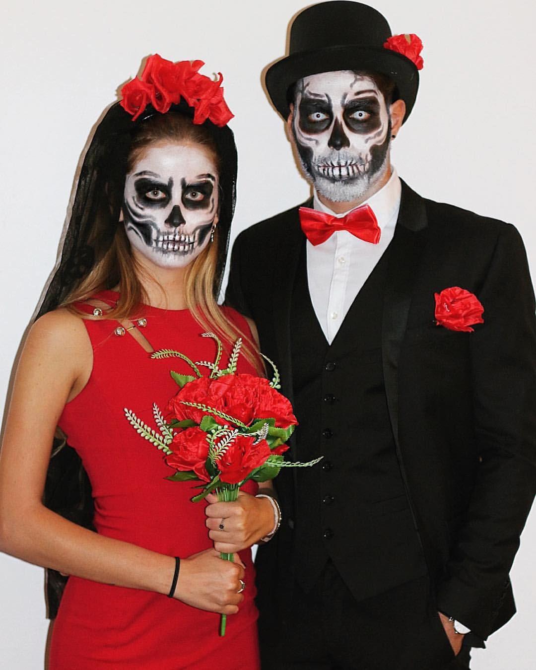 образ на хэллоуин для пары фото расскажу